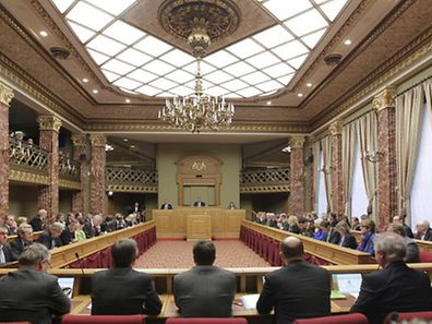 A session of the Chamber of Deputies in 2013