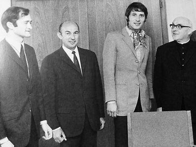 """Udo Jürgens kam 1969 in die Redaktion des """"Luxemburger Wort""""."""