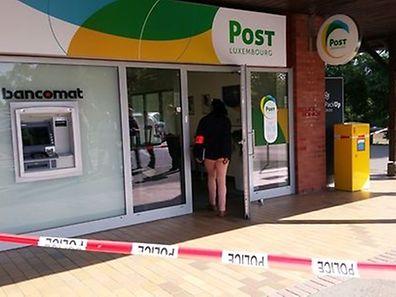 Os correios de Niederanven foram assaltados por três homens armados