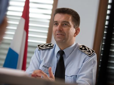Der Mensch im Vordergrund: Polizeichef Philippe Schrantz setzt auf Vertrauen und Dialog.