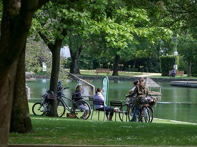 Ein Ort zum Entspannen: der Parc in Merl