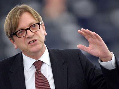 Der ehemalige belgische Premier Guy Verhofstadt ist eine von 89 Personen, die in Russland nicht willkommen sind.