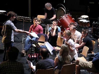 29.6.2015 Luxembourg, Grund, Abbaye Neumuenster, Compositian Summer School 2015, LUCILIN, photo Anouk Antony