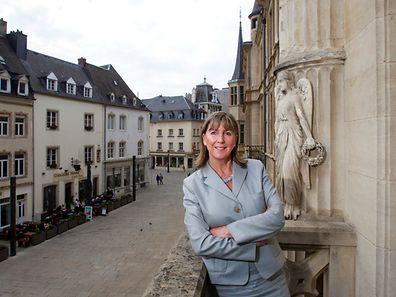 Bürgermeisterin der Stadt Luxemburg Lydie Polfer.