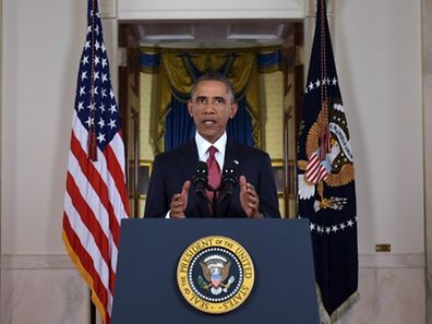 """Barack Obama: """"Notre objectif est clair: nous affaiblirons, et, à terme, détruirons l'EI"""""""