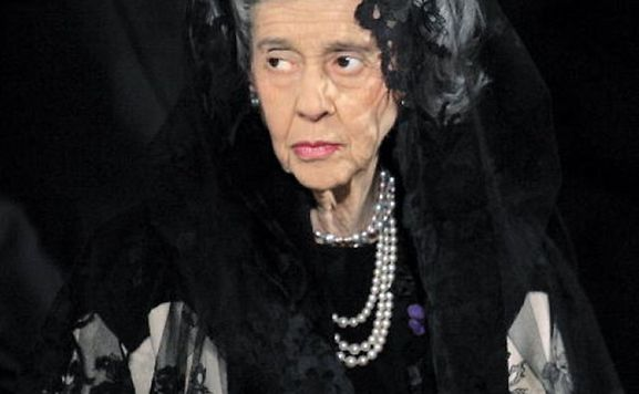 Königin Fabiola Belgien