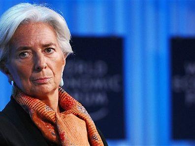 """A directora do FMI, Christine Lagarde lamenta que esta """"ofensiva"""" chegue tarde demais para dinamizar a economia europeia"""