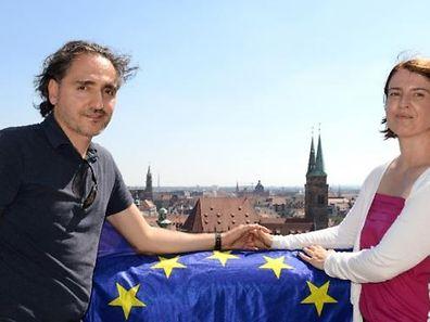 German_Greek couple  Bettina and Anestis