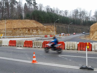 The Grünewald junction will be resurfaced this weekend