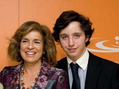 Nicolás Gómez mit der spanischen Politikerin der Volkspartei Partido Popular und amtierenden Bürgermeisterin von Madrid, Ana Botella.