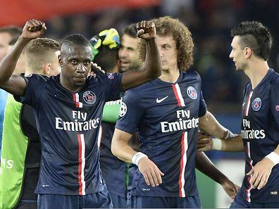 Blaise Matuidi et David Luiz savourent ce succès de prestige des Parisiens.