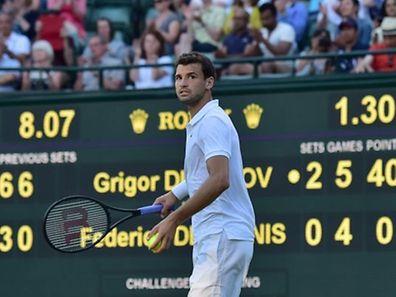 Noch ist nicht klar, ob Grigor Dimitrov die Bulgaren im Davis-Cup gegen Luxemburg unterstützt.