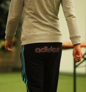 Les sponsors d'Ana Ivanovic connaissent les endroits stratégiques pour la visibilité de leur logo...