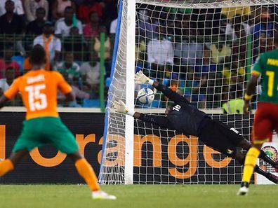 La frappe puissante de Max Gradel a permis à la Côte d'Ivoire de finir en tête du groupe D.