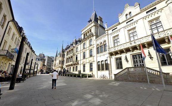 500 Zuschauer können vor dem großherzoglichen Palais Platz nehmen.