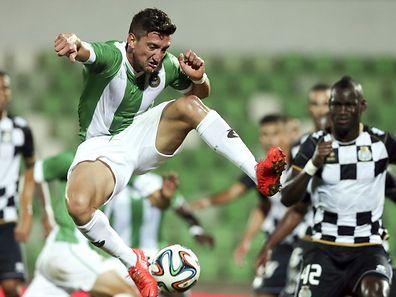 O jogador do Rio Ave Pedro Moreira foi dos melhores em campo