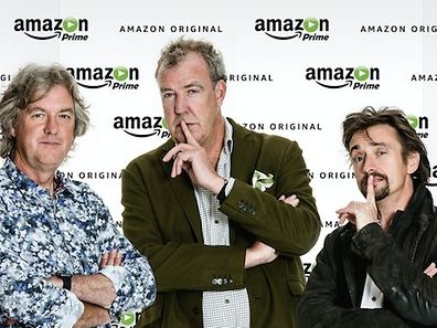 Von BBC zu Amazon: James May, Jeremy Clarkson und Richard Hammond.