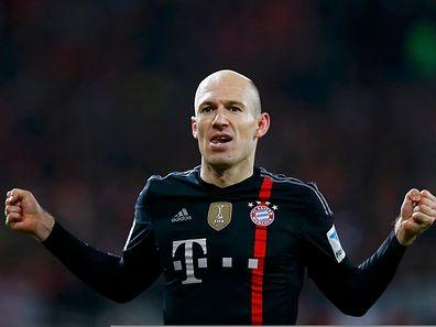 Arjen Robben sicherte dem FC Bayern in letzter Minute den Sieg.