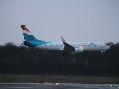 Check out Luxair's new Boeing 737-800, delivered on Thursday