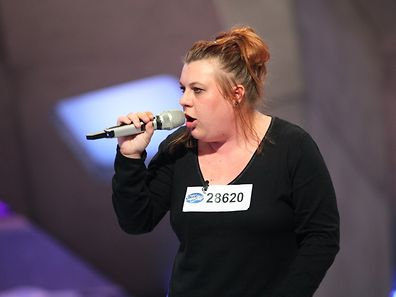 Sandy Diederich aus Düdelingen überzeugte mit einem Blues-Song.
