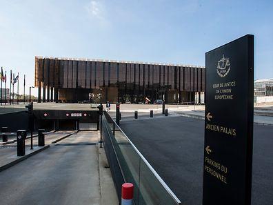 O Tribunal de Justiça da União Europeia fica no Luxemburgo, em Kirchberg