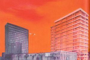 """Chantal Maquet's """"Utopie von gestern 4"""" at Salon CAL"""
