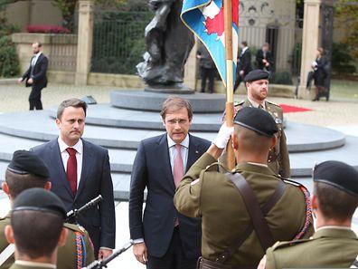 Passos Coelho chegou hoje ao Luxemburgo