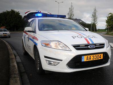 Die Polizei war am Freitagnachmittag in Bascharage wegen eines Unfalls im Einsatz.