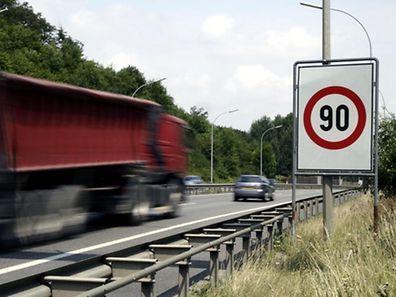 Bei hohen Ozonwerten gilt Tempo 90 auf den Autobahnen.
