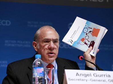 Angel Gurria, Secretary General of the OECD, at the report's presentation in Paris last week