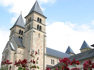 The basilica in Echternach