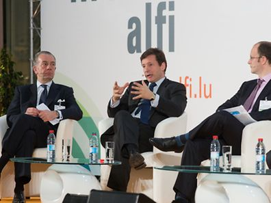 ALFI Spring conference with Luxembourg for Finance CEO Nicolas Mackel in the centre