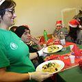 Os sem-abrigo tiveram uma refeição melhorada oferecida pela Associação Cultural e Humanitária da Bairrada no Luxemburgo