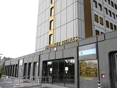Construit à Gasperich dans les années 1980, le bâtiment de la Caisse nationale de Santé (CNS) doit être désamianté.
