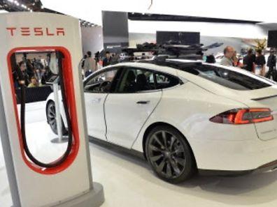 The Tesla elctric car
