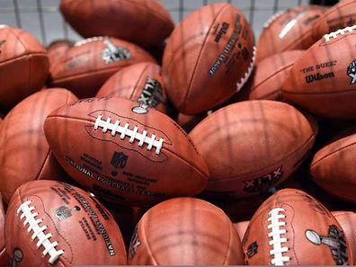 Super Bowl XLV Game Balls sold as fan souvenirs