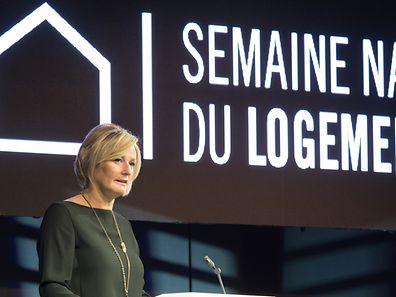 """Staatssekretärin Francine Closener eröffnet die 2. Ausgabe der neuen Herbstmesse """"Home & Living Expo""""."""