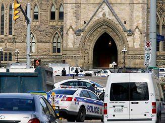 Die Polizei war in der Innenstadt von Ottawa im Großeinsatz.