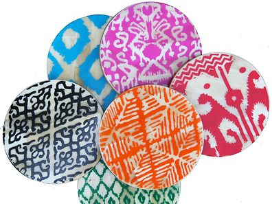 Aisha Bone Coasters, Eco Chic