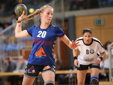 Joy Wirtz erzielte drei Tore im Hinspiel.