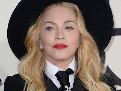 Madonna le 26 janvier 2014 à Los Angeles