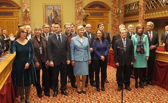 Luxemburger wort rentr e la chambre 46 d put s ont for Chambre de deputes luxembourg