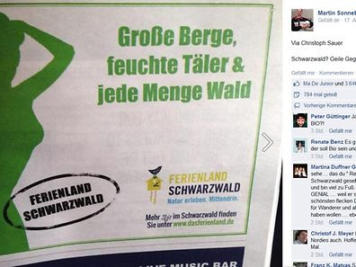 Auch Satire-Kenner Martin Sonneborn wurde auf diese Werbung aufmerksam.