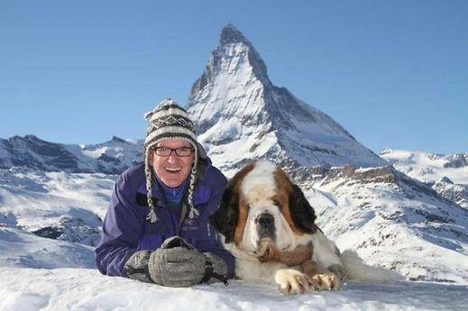 Matterhorn, dog and dork.