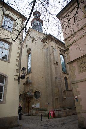 L'église de la Trinité est la seule église protestante de la capitale