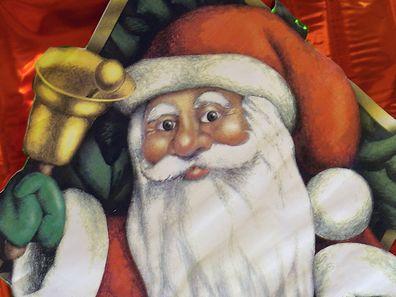 Der Weihnachtsmann - ein Eindringling.