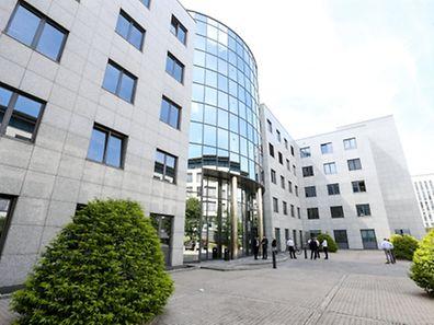 Les employés d'Eurobank à Luxembourg ont pu se rendre au bureau ce matin.