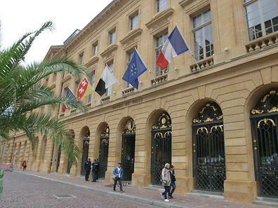 L'hôtel de Ville de Metz, place d'Armes