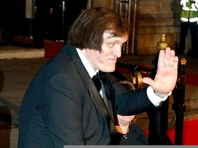 """Richard Kiel at the world premiere of Bond film """"Die Another Day"""" in London in 2002"""