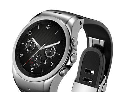 Sieht aus wie ein Chronometer, ist aber eine Smartwatch mit Telefonfunktion. LGs Watch Urbane LTE wird erstmals auf dem Mobile World Congress gezeigt.